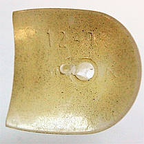 Каблук женский пластиковый 1280 беж р.2,3 h 12,5-13 см., фото 3