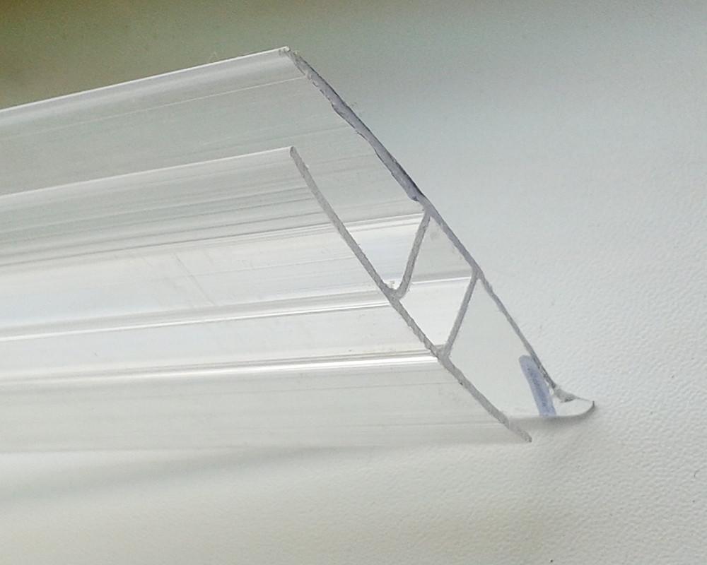 Соединительный профиль Oscar HP 10мм прозрачный  6000мм