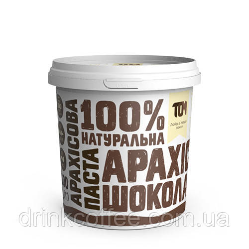 Арахiсова паста з чорним шоколадом, 500 г