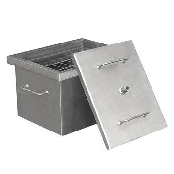 Коптильня горячего копчения Дид Коптенко малая (380x320x300)