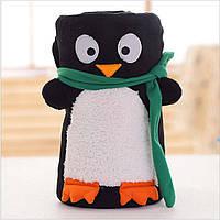 Новогодний плед, детский, 75*100. Penguin