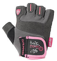 Перчатки для фитнеса и тяжелой атлетики Power System Cute Power PS-2560 женские S Pink, фото 1
