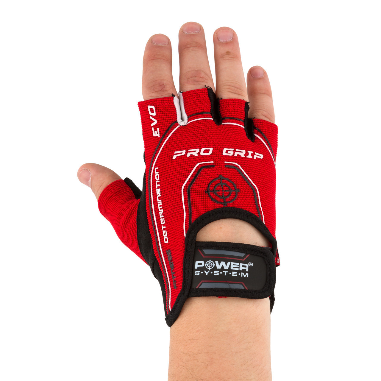 Перчатки для фитнеса и тяжелой атлетики Power System Pro Grip EVO PS-2250E XS Red
