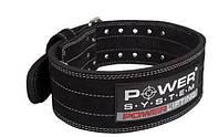 Пояс для пауэрлифтинга Power System Power Lifting PS-3800 XL Black, фото 1