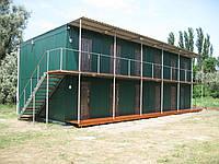 Модульные здания под общежития и вахтовые посёлки