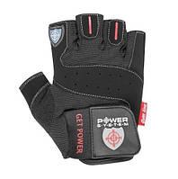 Перчатки для фитнеса и тяжелой атлетики Power System Get Power PS-2550 L Black
