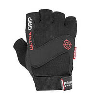 Перчатки для фитнеса и тяжелой атлетики Power System Ultra Grip PS-2400 XS Black, фото 1
