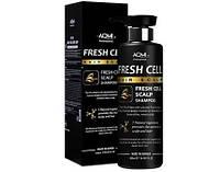 Шампунь для волос со стволовыми клетками костного мозга AOMi  Fresh Сell Hair Scalp, 500 ml