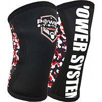 Наколенники для Crossfit Power System Knee Sleeves PS-6030 L/XL Black, фото 1
