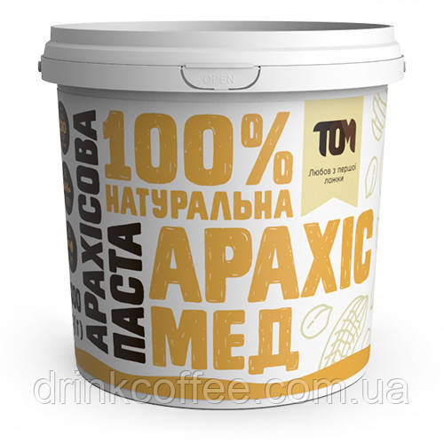 Арахісова паста з медом, 1кг