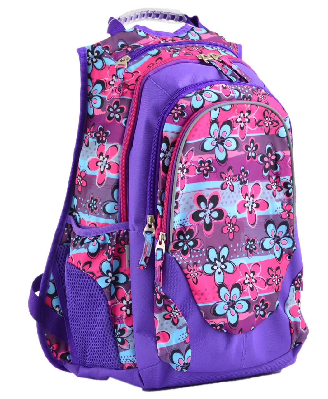 Рюкзак підлітковий Т-27 Wildflowers, 43*26*20