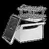 Коптильня горячего копчения Дид Коптенко малая из нержавейки (380x320x300), фото 3