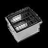 Коптильня горячего копчения Дид Коптенко малая из нержавейки (380x320x300), фото 2