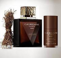 Чоловічий парфумований набір Джордані Голд Мен (Giordani Gold Man) від Оріфлейм (Кульковий дезодорант)