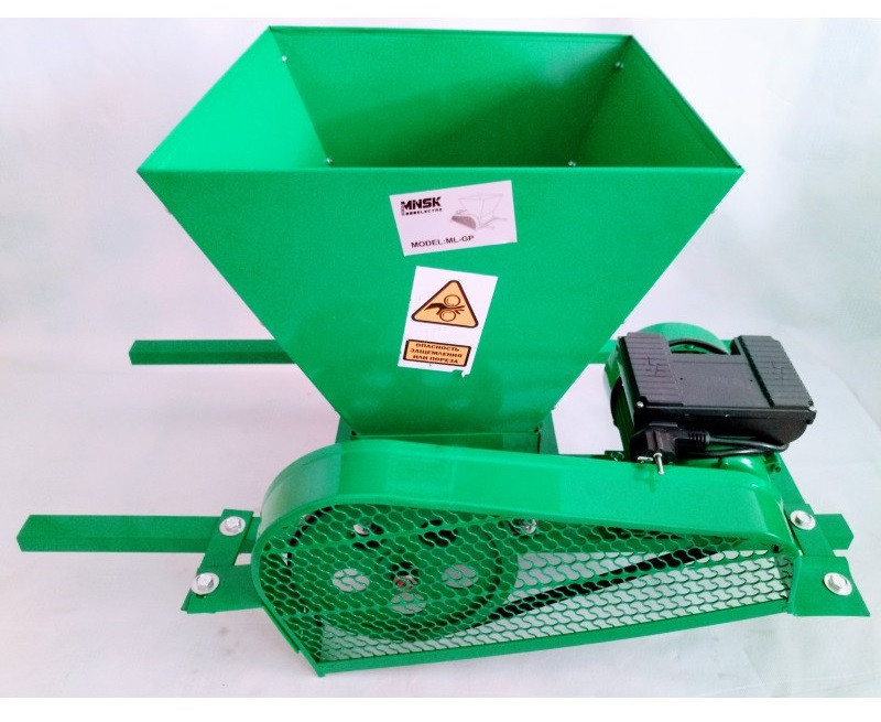 Дробилка для винограда с электромотором MINSK ML-GP