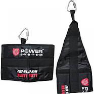 Петли подвесные (петли Береша) Power System Ab Slings PS-4038 Black, фото 2