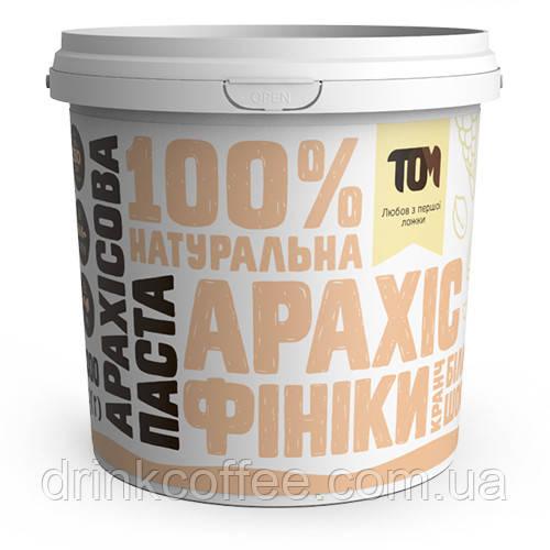 Арахiсова паста з фініками та білим шоколадом, 1кг
