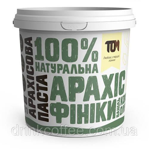 Арахісова паста з фініками та кокосовою олією, 1кг