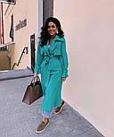 Женский тренч-парка в стиле хэвлок (в расцветках), фото 4