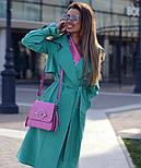 Женский тренч-парка в стиле хэвлок (в расцветках), фото 6