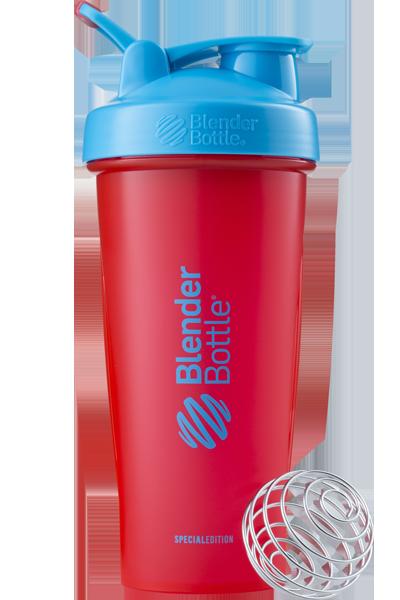Спортивный шейкер BlenderBottle Classic Loop 820ml Special Edition Sonic Red/Blue (ORIGINAL)
