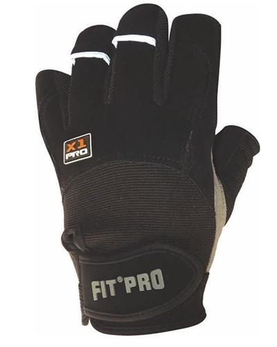 Перчатки для тяжелой атлетики Power System X1 Pro FP-01 Black L
