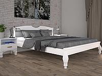 Кровать двуспальная ТИС Корона 3 дуб белый