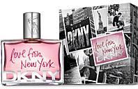 Женская парфюмированная вода Donna Karan Love from New York Women 100 ml (Лав фром Нью Йорк Вумен)