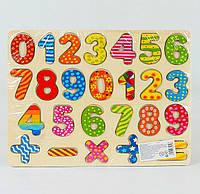 Деревянные набор для обучения Цифры, доска с цифрамы