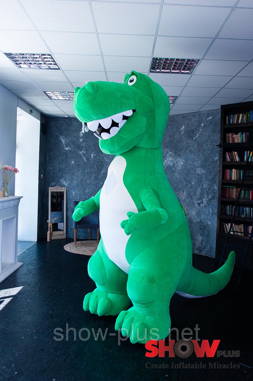 Надувной Костюм ( Пневмокостюм , Пневморобот ) Динозавр