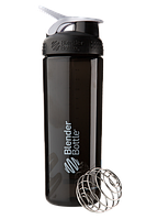 Спортивная бутылка-шейкер BlenderBottle SportMixer Sleek Promo 820ml Black (ORIGINAL)