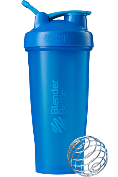 Спортивный шейкер BlenderBottle Classic Loop 820ml Cyan (ORIGINAL)