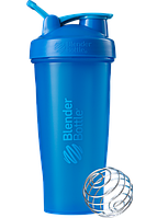 Спортивный шейкер BlenderBottle Classic Loop 820ml Cyan (ORIGINAL), фото 1