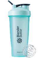Спортивный шейкер BlenderBottle Classic Loop 820ml Special Edition  Mint (ORIGINAL), фото 1