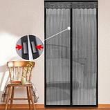 Антимоскітна дверна сітка антимоскітна захист, фото 3