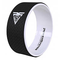 Йога колесо для фитнеса и аэробики Power SystemYoga Wheel Pro PS-4085 Black/White