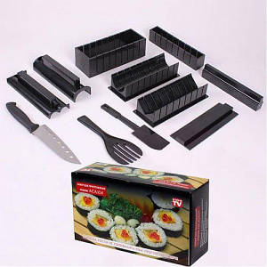 Набор для приготовления суши роллов мидори Fun Fish