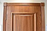 Двері з феленкой з масиву ясена та фігурним лиштвою, фото 3