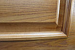 Двері з феленкой з масиву ясена та фігурним лиштвою, фото 6