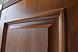 Двері з феленкой з масиву ясена та фігурним лиштвою, фото 7