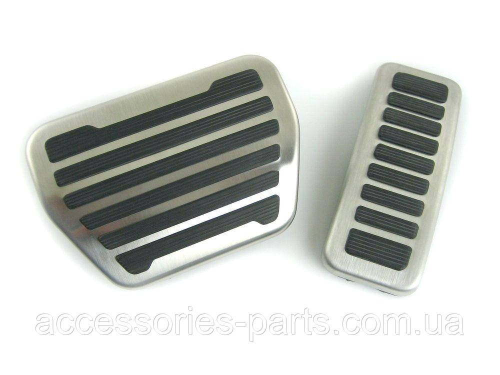 Накладки на педали рестайлинг Range Rover Vogue L405 / Sport L494 Новые Оригинальные