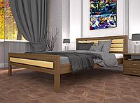 Кровать двуспальная ТИС Модерн 1 бук орех