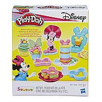 Набор теста для лепки Play Doh Минни Маус Minnie Mouse Treats Disney Оригинал E1656 Плей до 140 г