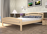 Кровать двуспальная ТИС Модерн 2 бук слоновая кость