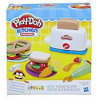 Набор теста Игровой для лепки Тостер Play Doh Kitchen Creations Toaster Оригинал E1656 Плей до 280 г