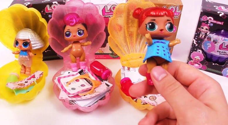 """Кукла сюрприз """"LOL Pearl"""" Ракушка"""" 11 серия, фото 2"""