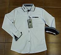 Стильная рубашка  для мальчика на рост 134-170 см, фото 1