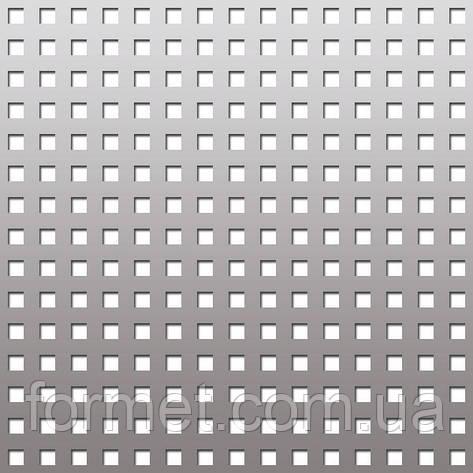 Лист перфорированный 0,8*1000*2000 (яч.10*10) шаг 28, фото 2