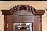Межкомнатные двери из массива ясеня и массивным порталом, фото 2