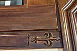 Межкомнатные двери из массива ясеня и массивным порталом, фото 4